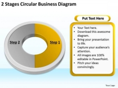 World Business PowerPoint Templates Diagram Continuity Plan