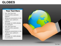World In Hand PowerPoint Slides Ppt Graphics