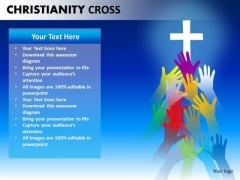 Worship Christ PowerPoint Ppt Templates