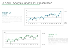 X And R Analysis Chart Ppt Presentation