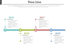 Year Based Timeline For Business Strategy Powerpoint Slides