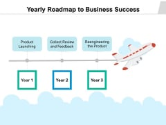 Yearly Roadmap To Business Success Ppt PowerPoint Presentation Infographics File Formats PDF