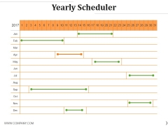 Yearly Scheduler Ppt PowerPoint Presentation Outline Ideas