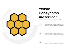 Yellow Honeycomb Vector Icon Ppt PowerPoint Presentation Show