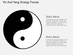 Yin And Yang Energy Forces Powerpoint Template