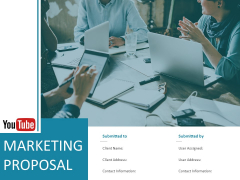 Youtube Marketing Proposal Ppt PowerPoint Presentation Complete Deck With Slides