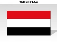 Yemen Country PowerPoint Flags
