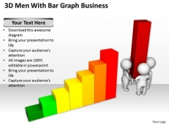 Young Business People PowerPoint Templates Ppt Backgrounds For Slides
