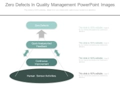 Zero Defects In Quality Management Powerpoint Images