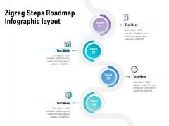 Zigzag Steps Roadmap Infographic Layout Ppt PowerPoint Presentation Summary Smartart