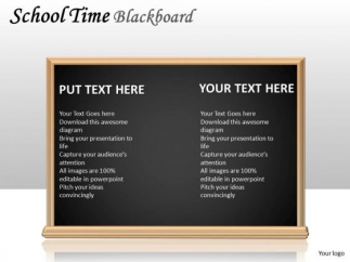alphabet_school_time_blackboard_powerpoint_slides_and_ppt_diagram_templates_1