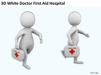 business people images doctor first aid hospital powerpoint, Powerpoint templates