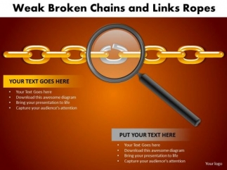 Business process powerpoint templates business weak broken chains businessprocesspowerpointtemplatesbusinessweakbrokenchainsandlinksropespptslides1 toneelgroepblik Image collections