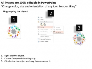 Cycle_Diagram_For_Online_Marketing_Plans_Powerpoint_Template_2