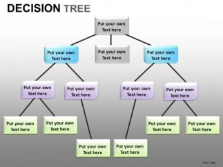 Decision Tree Network Diagram PowerPoint Templates - PowerPoint ...