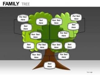 Download Editable Family Tree PowerPoint Templates - PowerPoint ...