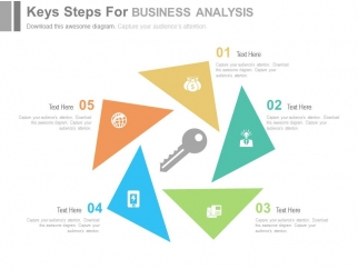 Business analysis presentation template brettfranklin five key steps for business analysis powerpoint template presentation templates toneelgroepblik Gallery