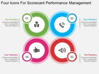 Four_Icons_For_Scorecard_Performance_Management_Powerpoint_Template_1