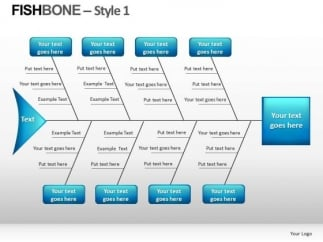 fishbone template ppt