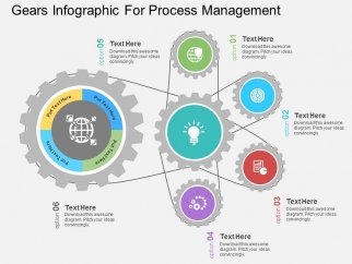 Gears_Infographic_For_Process_Management_Powerpoint_Templates_1
