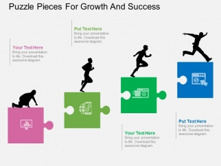 Puzzle_Pieces_For_Growth_And_Success_Powerpoint_Templates_1