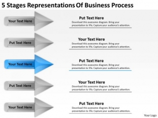 PowerPoint Templates Process Business Plan For Non Profit - Business plan template non profit organization
