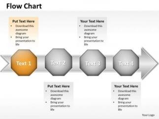 ppt arrow organization flow ishikawa diagram powerpoint template, Modern powerpoint