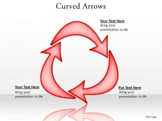 ppt_curved_arrows_pointer_inwards_editable_powerpoint_world_map_templates_1