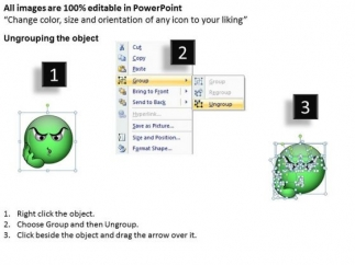 ppt_thinking_smiley_face_graphic_time_management_powerpoint_diagram_templates_2