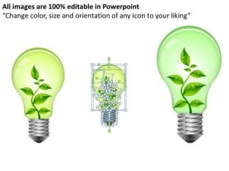 process_and_flows_green_technology_bulb_powerpoint_slides_and_ppt_diagram_templates_2