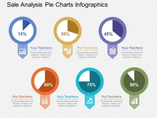 Sales Analysis Pie Charts Infographics Powerpoint Template ...