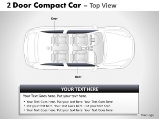 street_2_door_gray_car_top_powerpoint_slides_and_ppt_diagram_templates_1