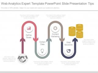 web analytics expert template powerpoint slide presentation tips, Presentation templates