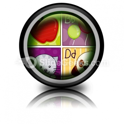 A To D PowerPoint Icon Cc