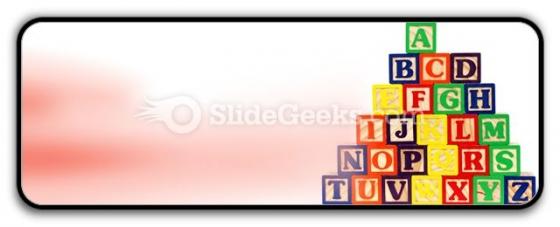 Abc Blocks PowerPoint Icon R
