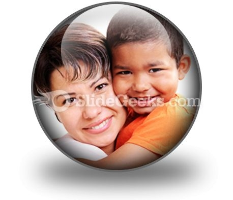 Adoptive Child PowerPoint Icon C