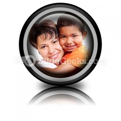 Adoptive Child PowerPoint Icon Cc