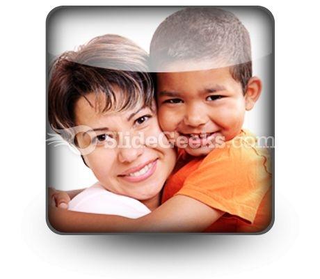 Adoptive Child PowerPoint Icon S
