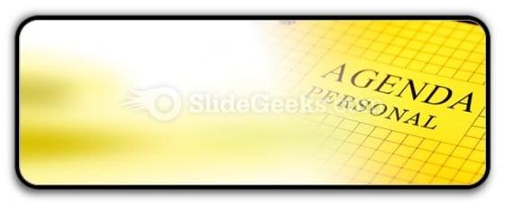 Agenda PowerPoint Icon R