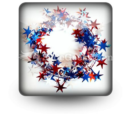 All Around American PowerPoint Icon S