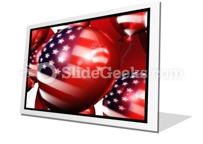 America Balloons01 PowerPoint Icon F