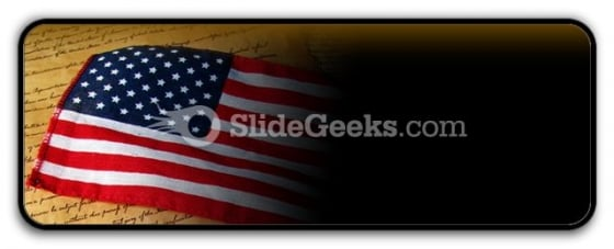 America Flag PowerPoint Icon R