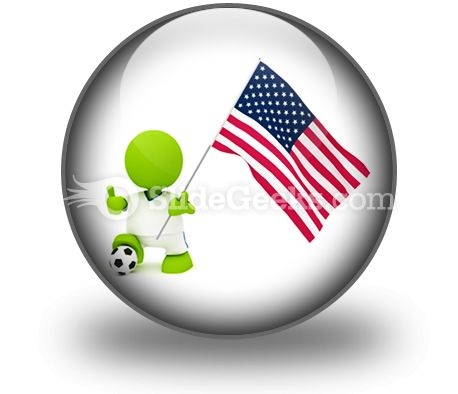 American Soccer PowerPoint Icon C