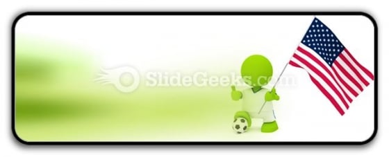 American Soccer PowerPoint Icon R