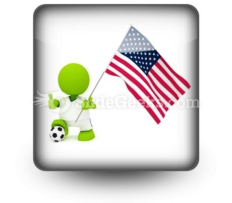 American Soccer PowerPoint Icon S