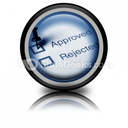 Approved PowerPoint Icon Cc