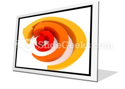 Arrows Spinning PowerPoint Icon F