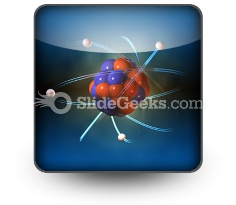 Atom PowerPoint Icon S