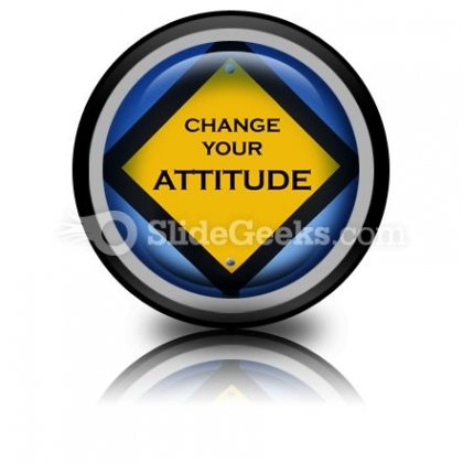 Attitude Sign PowerPoint Icon Cc