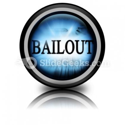 Bailout PowerPoint Icon Cc